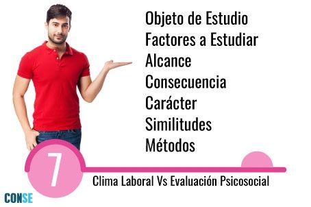 IClima Laboral y Evaluación Psicosocial son lo mismo?